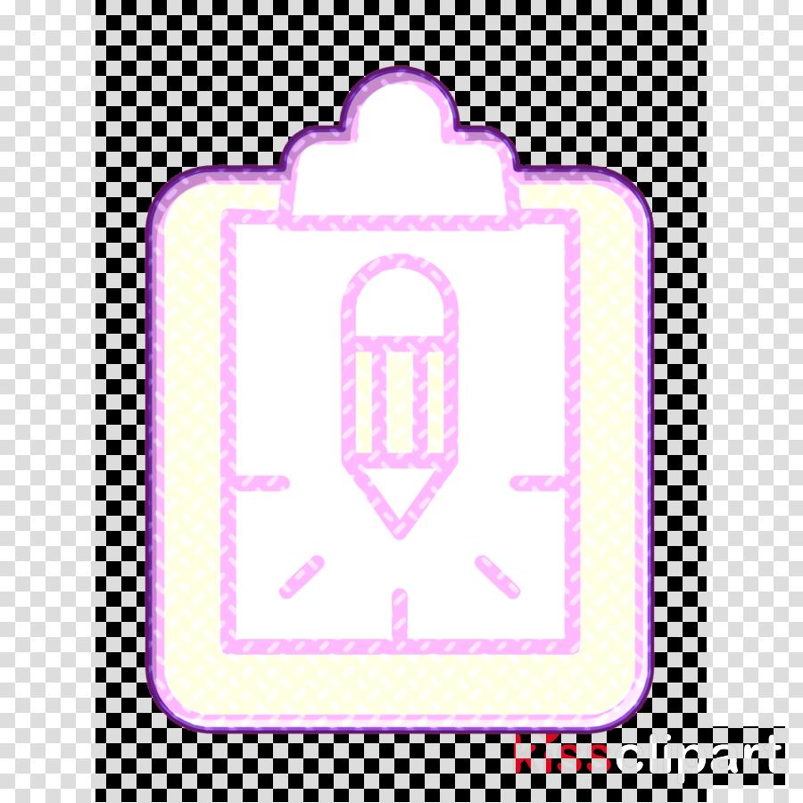 Files and folders icon Creative icon Clipboard icon