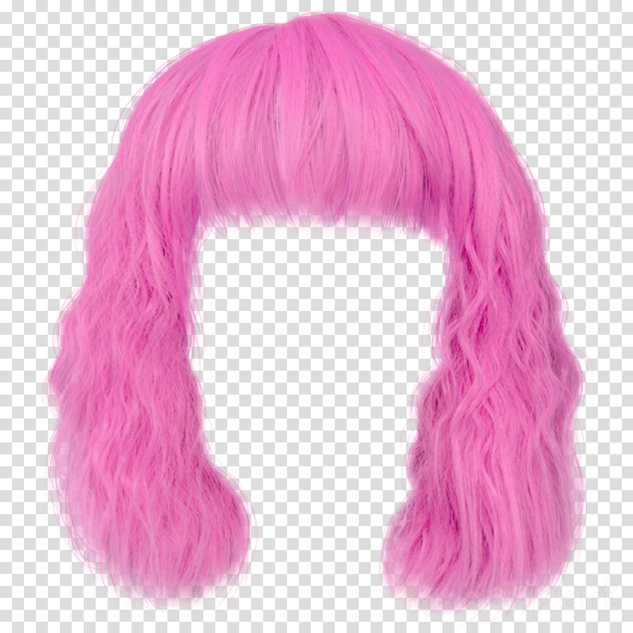 hair pink wig clothing hairstyle