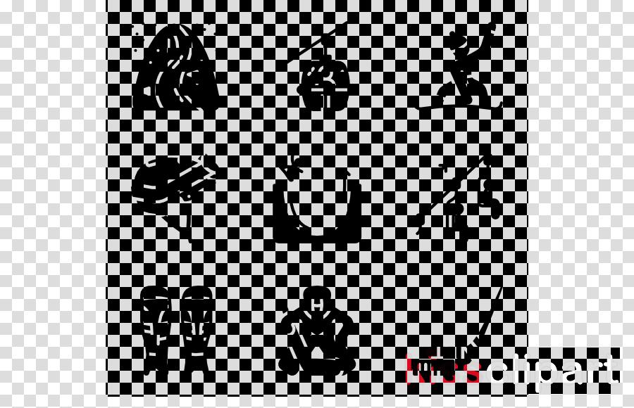 white text font black black-and-white