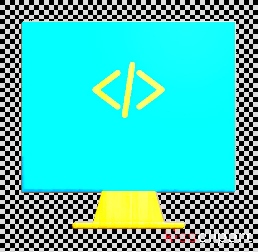 Coding icon Software developer icon Code icon