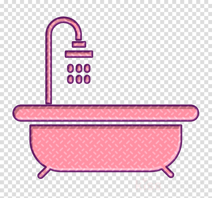 Cleaning icon Hot tub icon Shower icon