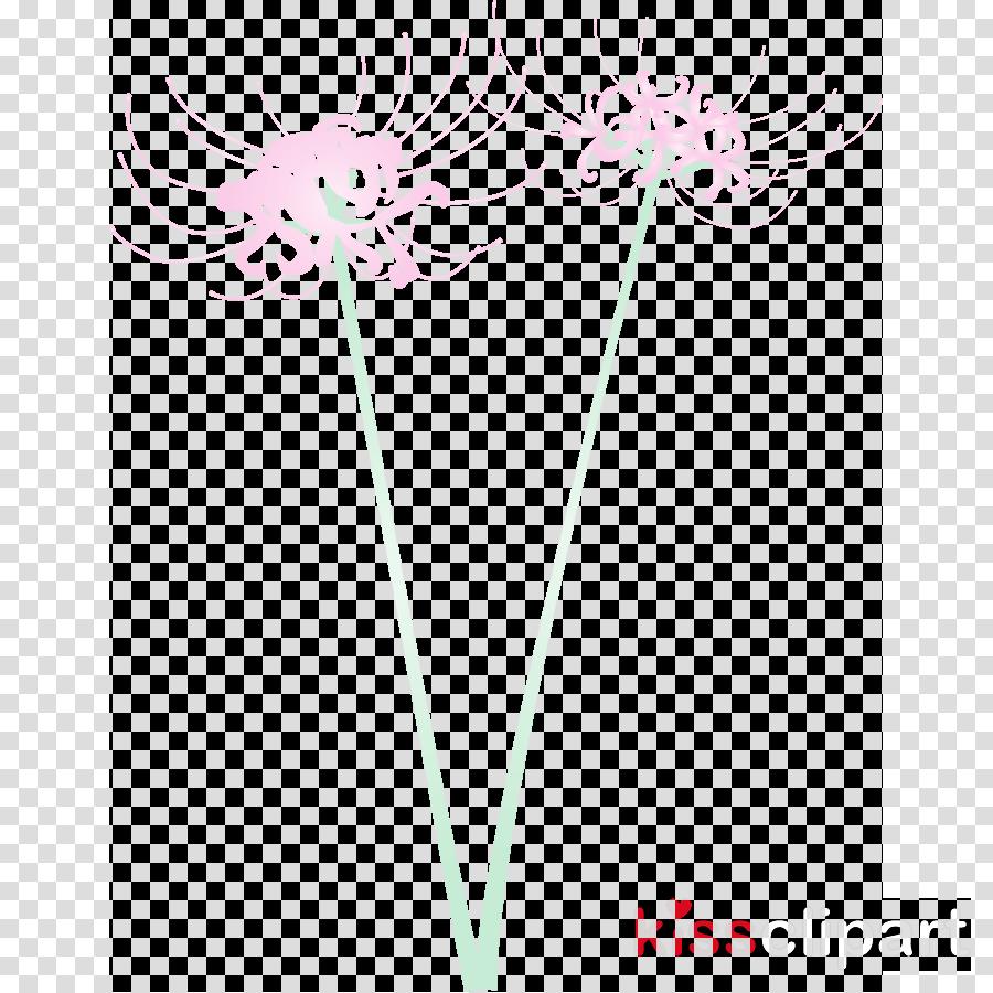 pink line plant flower plant stem