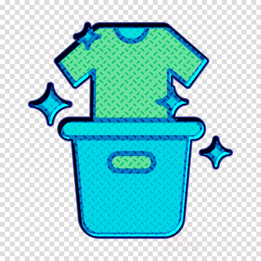 Clean icon Laundry icon Cleaning icon