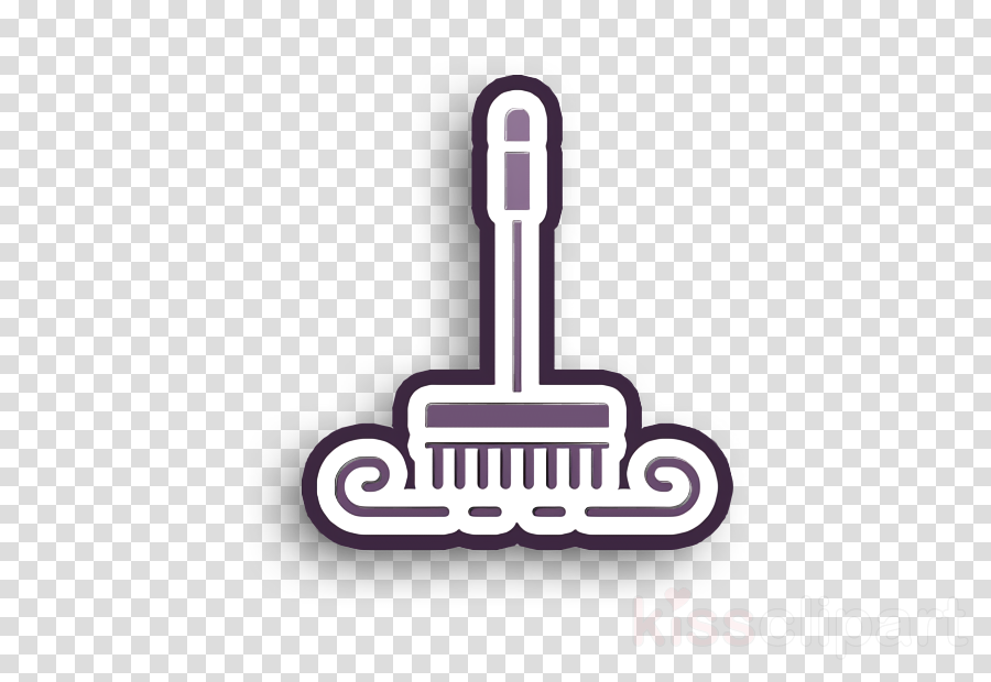Broom icon Brush icon Cleaning icon