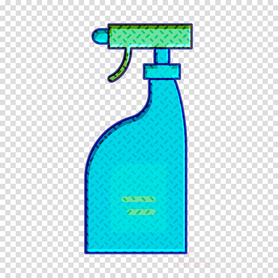 Cleaning products icon Cleaning icon Bleach icon