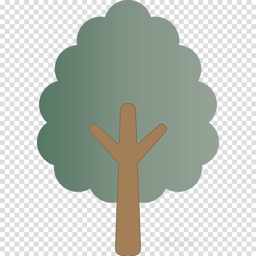 green leaf cross symbol religious item