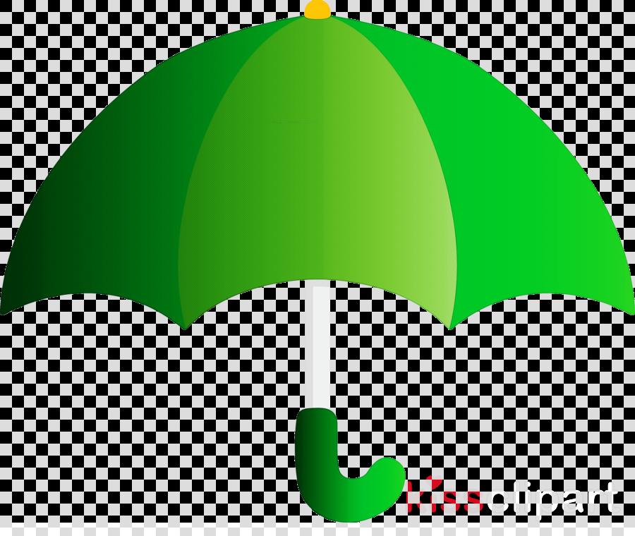green leaf plant umbrella symbol