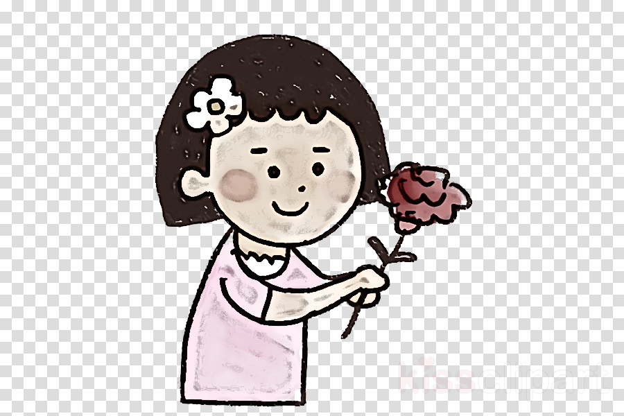 cartoon cheek head pink smile