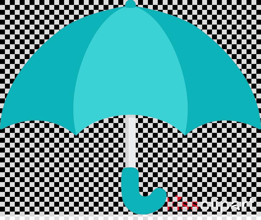 turquoise aqua umbrella