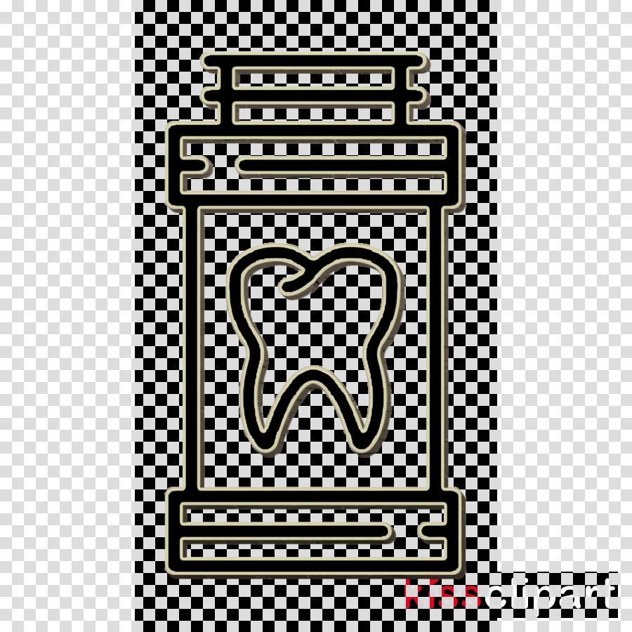 Dentistry icon Medicine icon Healthcare and medical icon