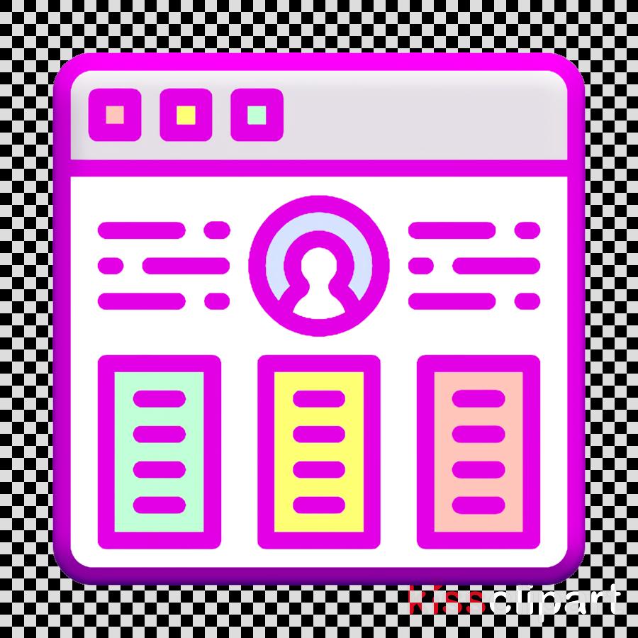 Resume icon Portfolio icon User Interface Vol 3 icon