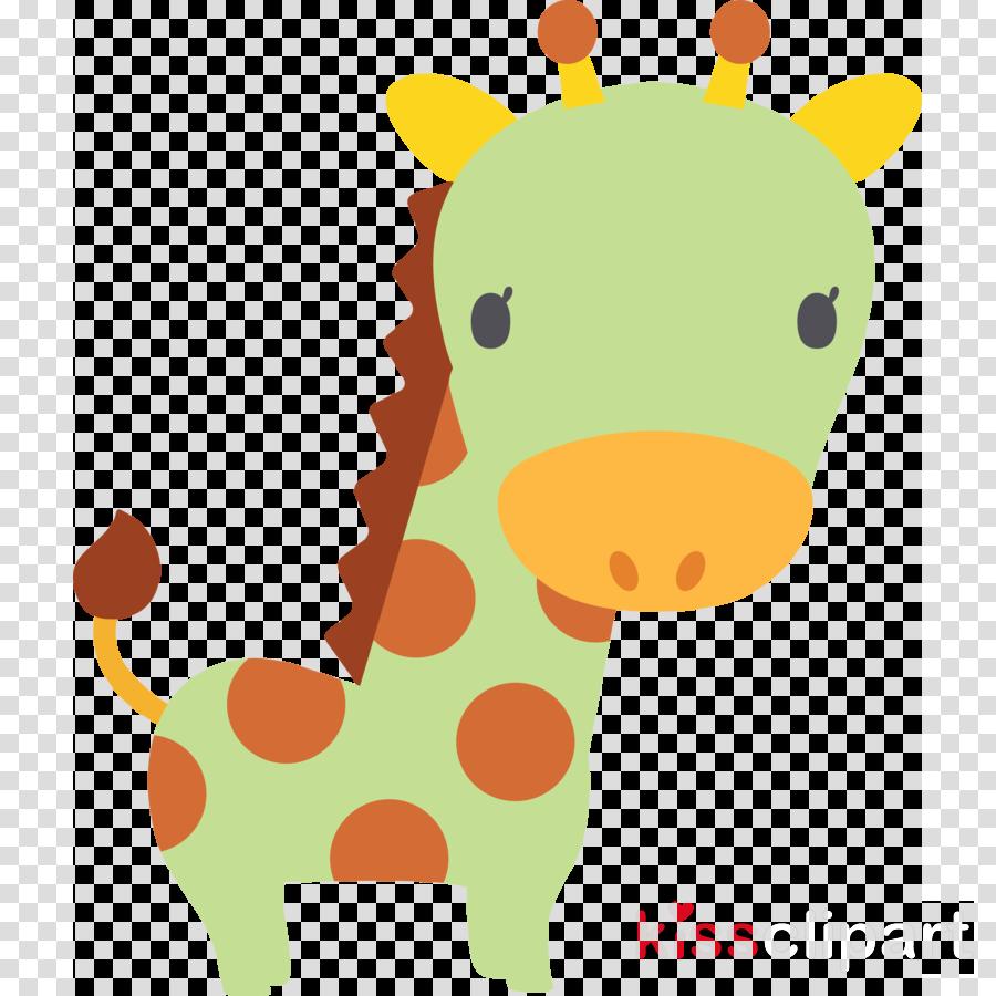 giraffe giraffidae cartoon animal figure sticker