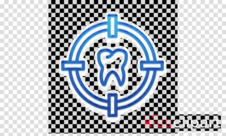 Target icon Dental icon Dentistry icon