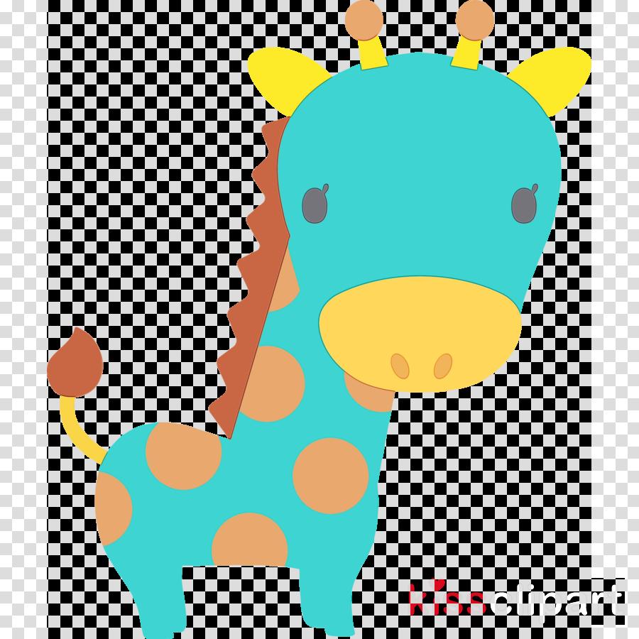 giraffe giraffidae sticker animal figure