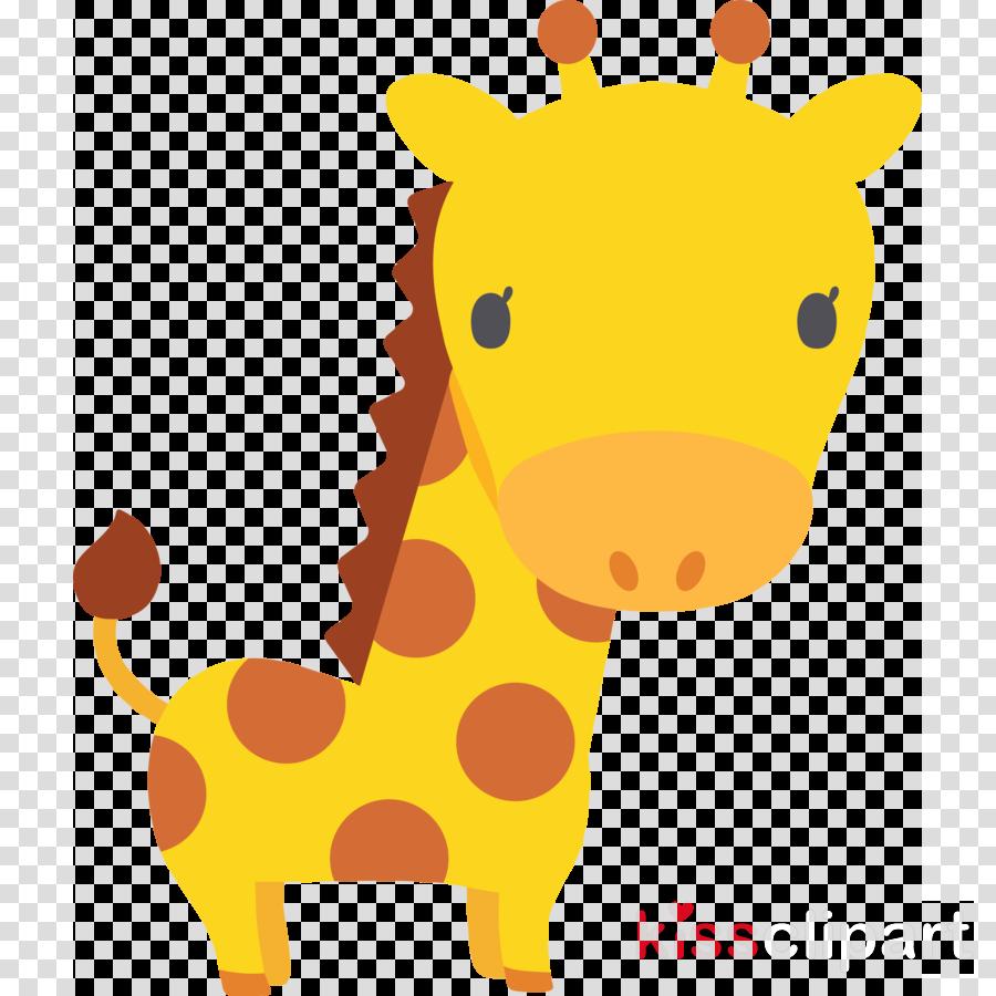 giraffe yellow cartoon giraffidae animal figure