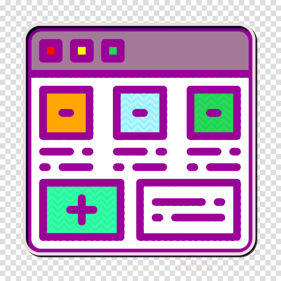 User Interface Vol 3 icon Add icon Section icon