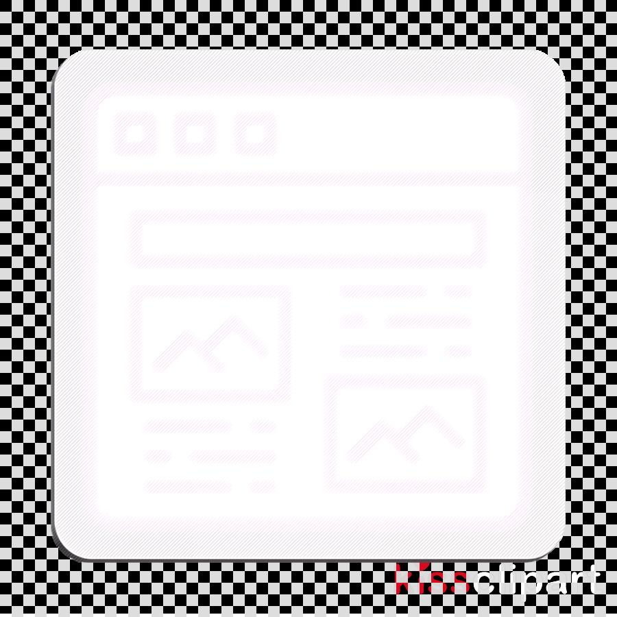Article icon Content icon User Interface Vol 3 icon