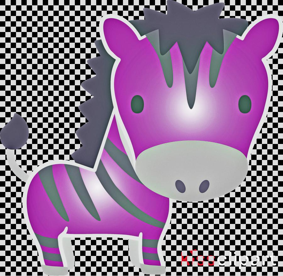 cartoon purple pink violet snout