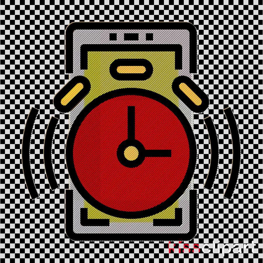 Mobile Interface icon Bell icon Alarm icon