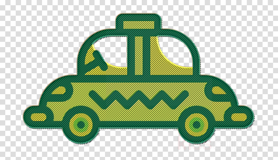 Cab icon Travel icon Taxi icon