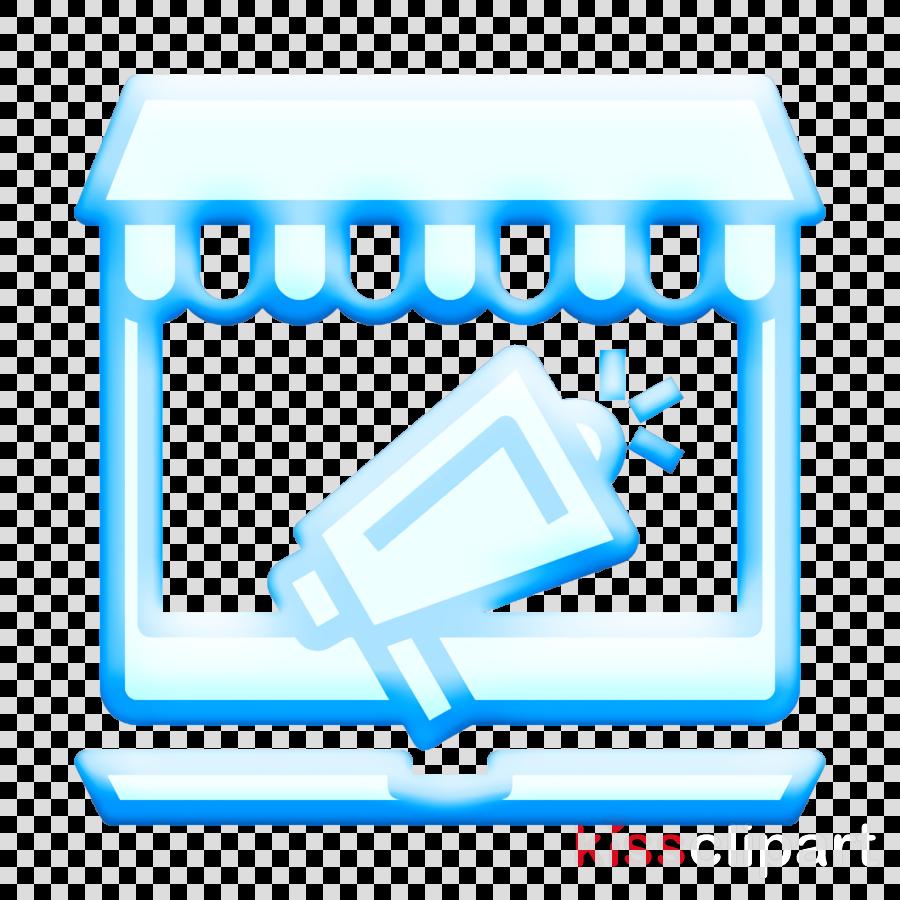 Digital Service icon Shop icon Online shopping icon