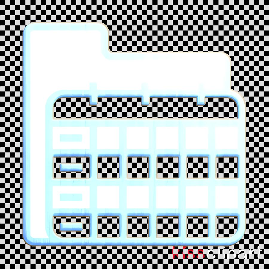 Folder and Document icon Calendar icon