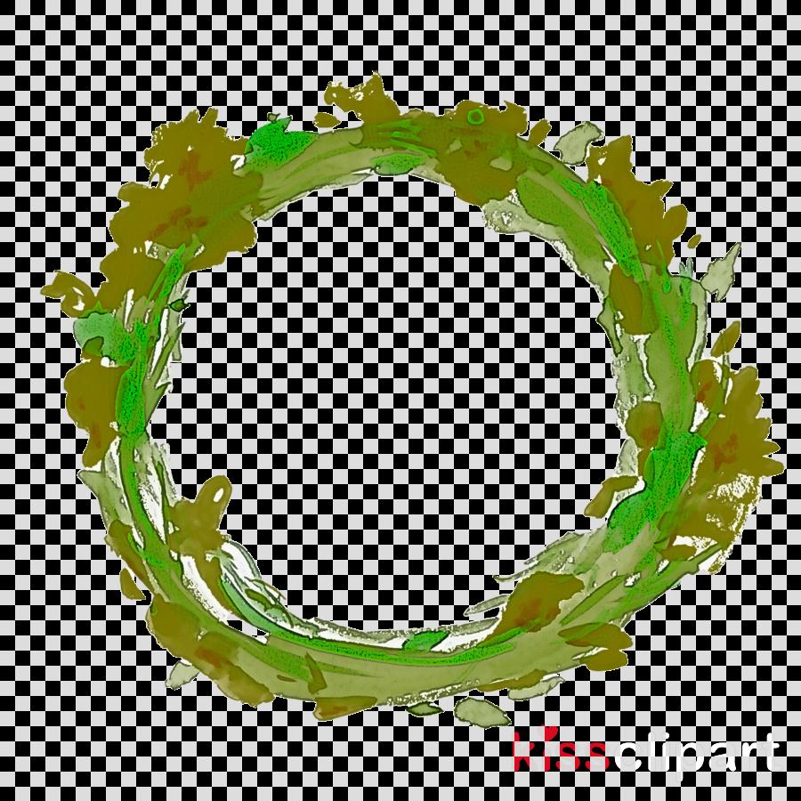 green font bracelet circle