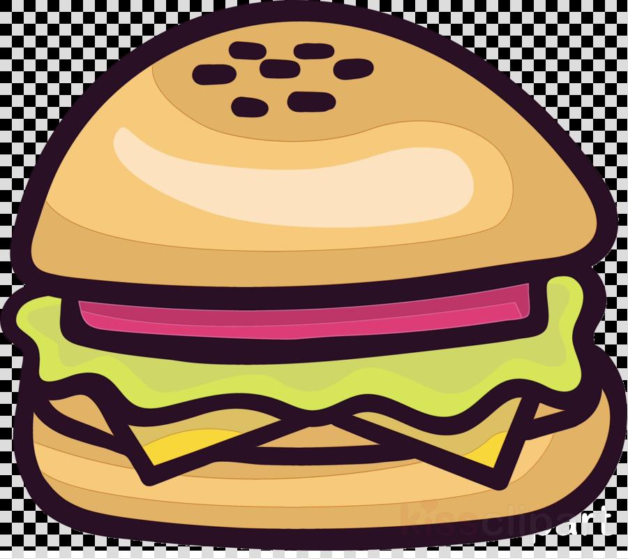 yellow junk food smile fast food cheeseburger