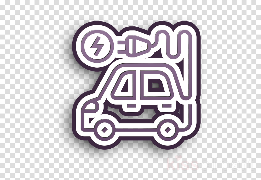 Plug icon Electric vehicle icon Technologies Disruption icon