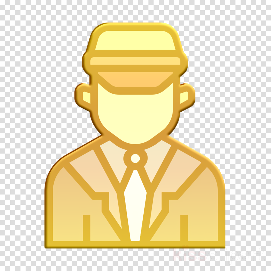 Jobs and Occupations icon Bus icon Chauffeur icon