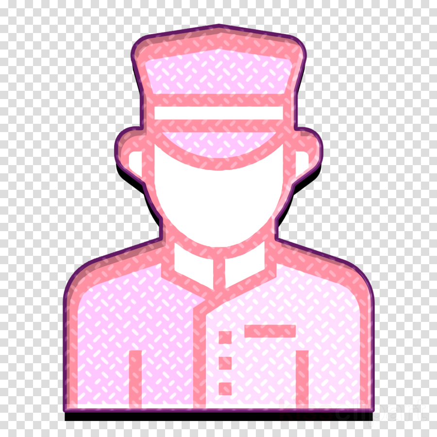 Doorman icon Jobs and Occupations icon Hotel icon