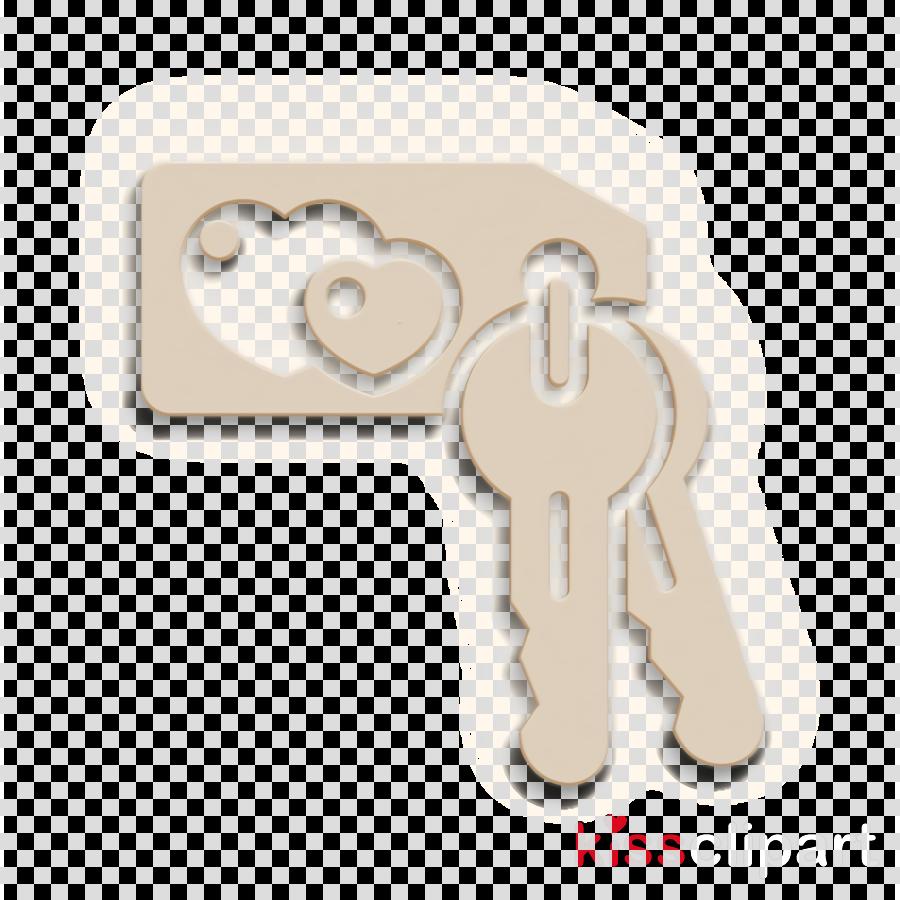 Wedding icon Key icon Hotel icon