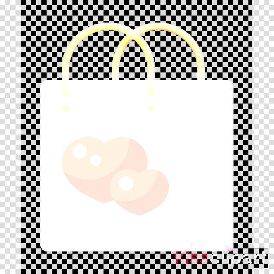 Wedding icon Bag icon Birthday and party icon