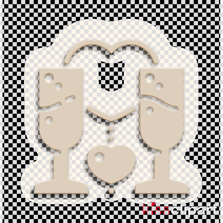 Romantic icon Romantic Love icon Toast icon