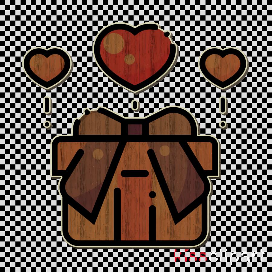 Gift icon Love icon