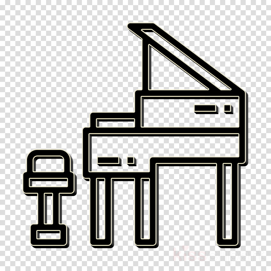 Piano icon Grand piano icon Home Equipment icon