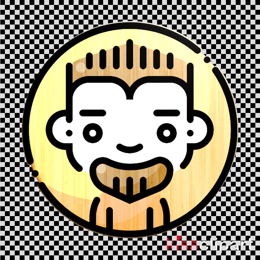 Spiky hair icon Avatars icon Man icon