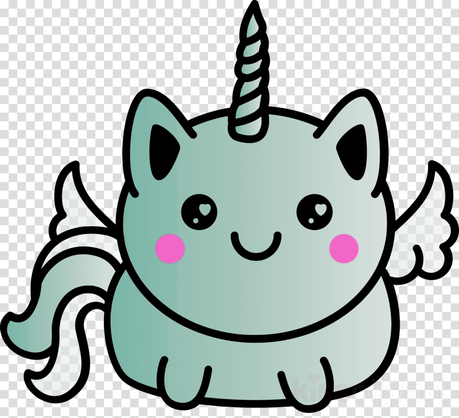 head cartoon pink whiskers line