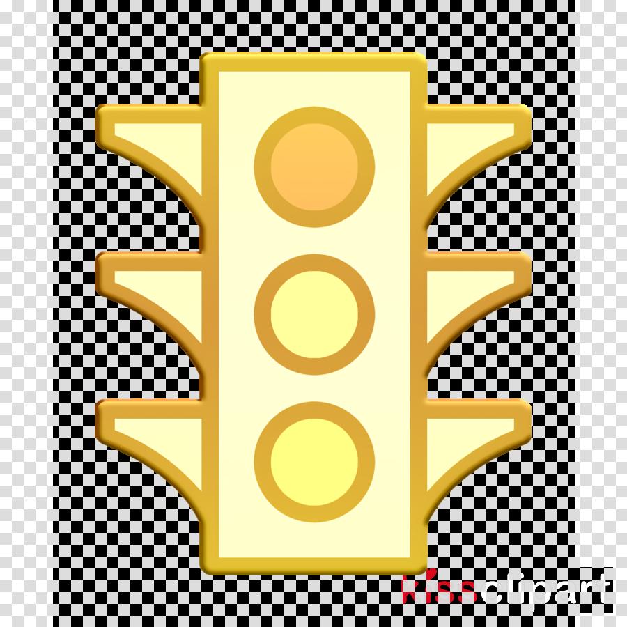 Traffic light icon Traffic icon Navigation Map icon