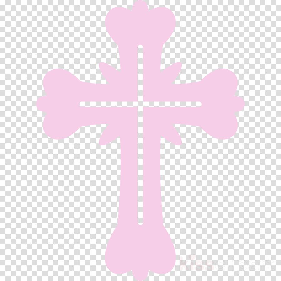 cross religious item pink symbol