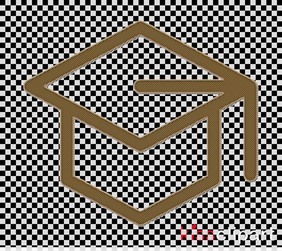 Education icon Mortarboard icon Cap icon