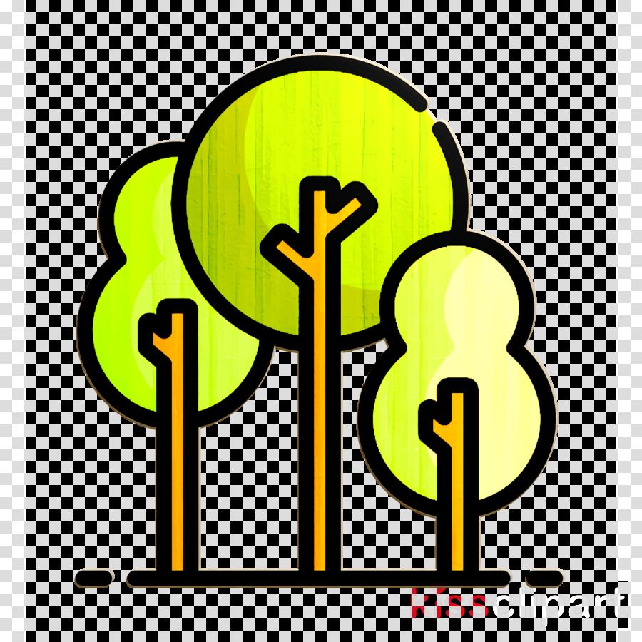 city icon tree icon park icon clipart yellow line symbol transparent clip art city icon tree icon park icon clipart