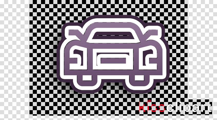 Transportation icon Car icon Sportive car icon