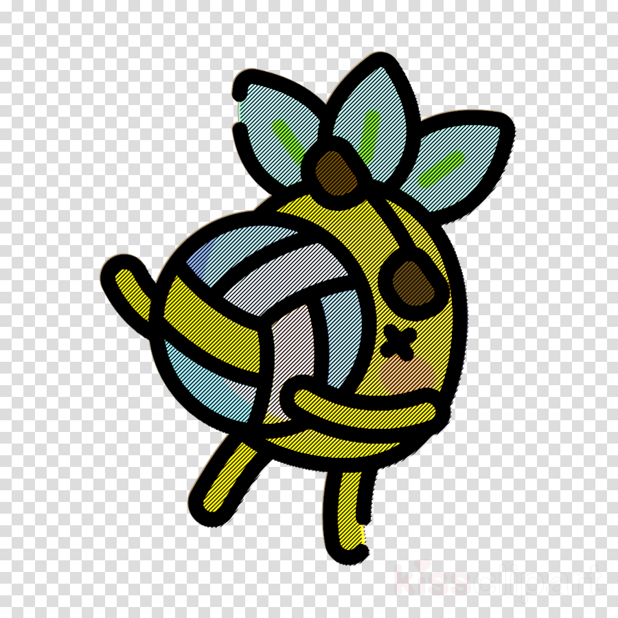 Pineapple Character icon Smash icon Volleyball icon