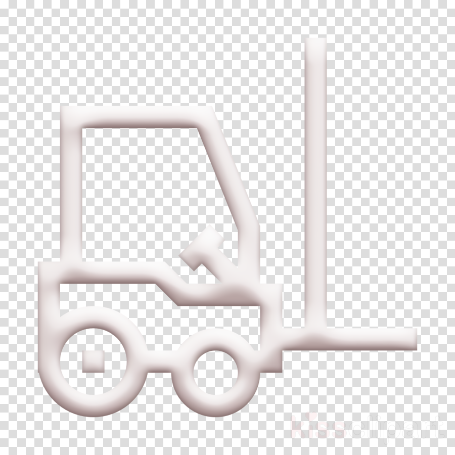 Logistics icon Forklift icon