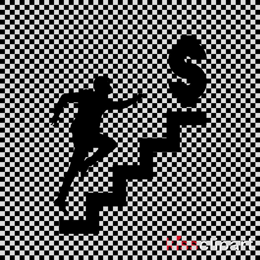silhouette logo running recreation