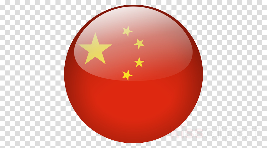red flag sphere ball circle
