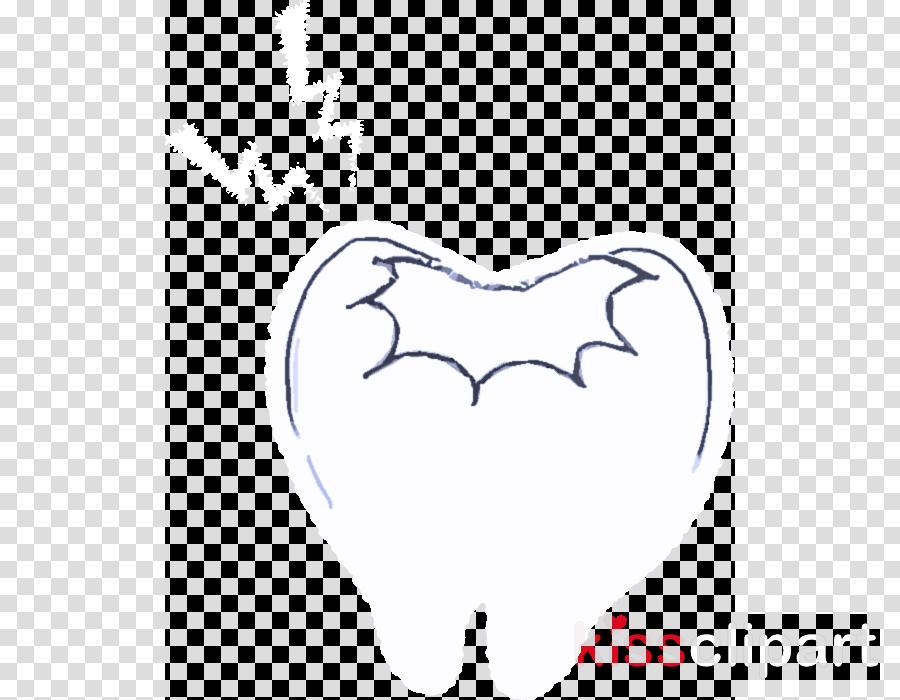 drawing bat sketch wing heart