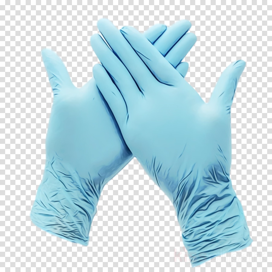 glove blue personal protective equipment medical glove hand