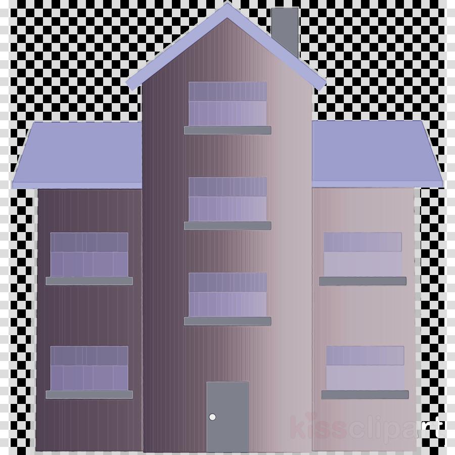 violet purple house architecture facade